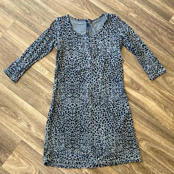 Jessica Simpson Leopard Shift Dress